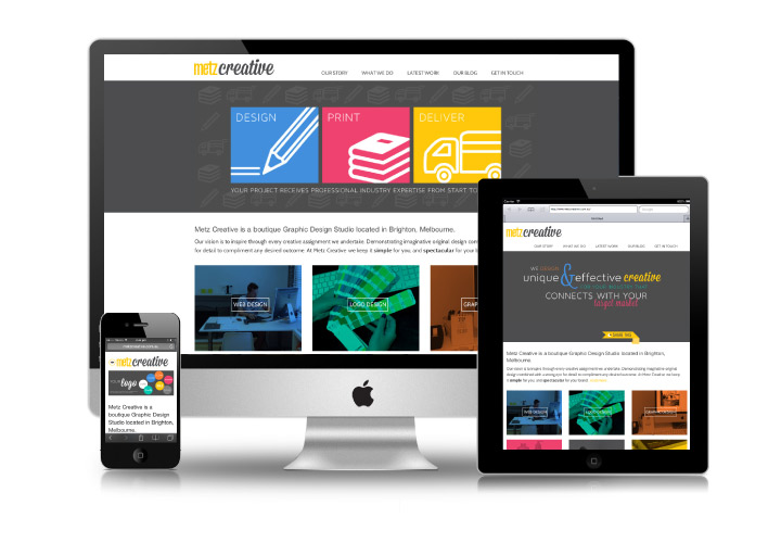 Website design & development with Metz Creative