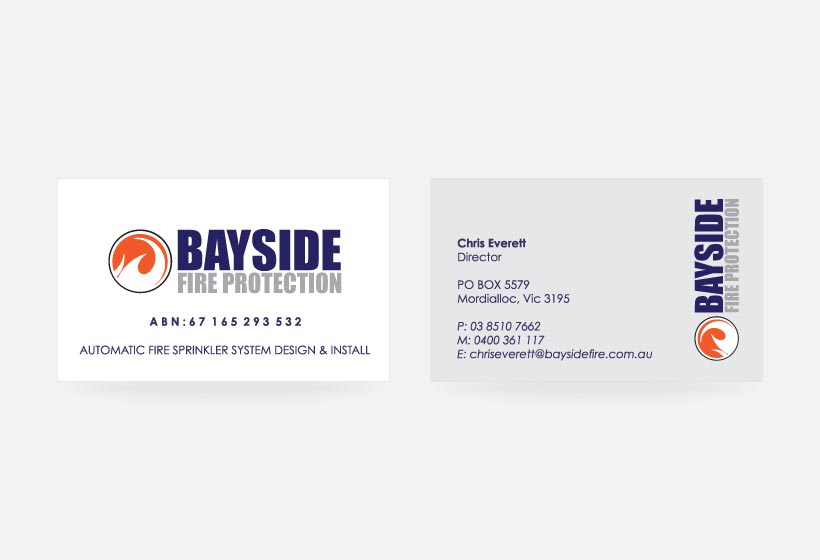 Baysidefire Business Card