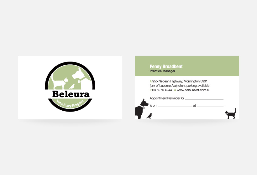 Beleura Business Card