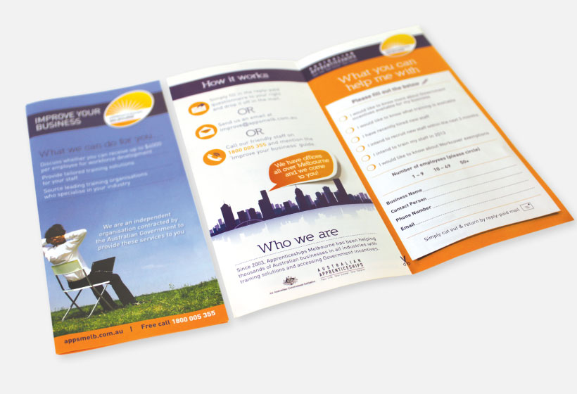 Dl Brochure Design