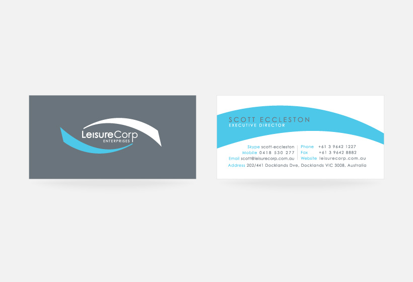 Leisurecorp Business Card