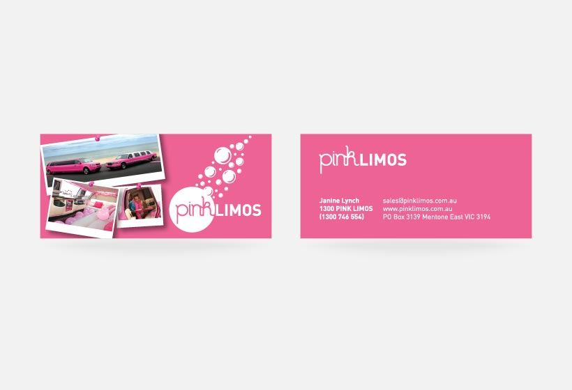 Pinklimo Business Card