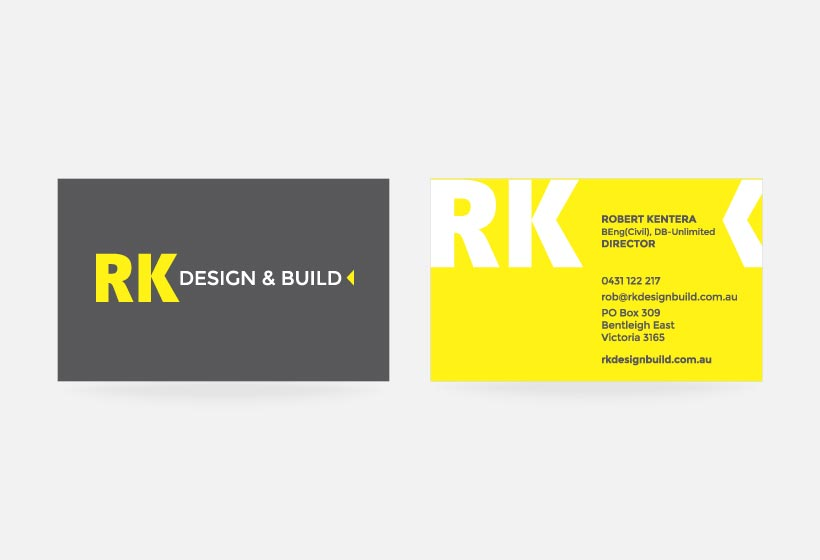 Rk Design Business Card