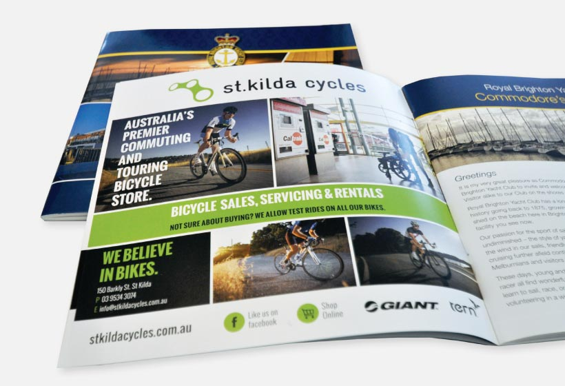 Stkilda Cycles Advertising