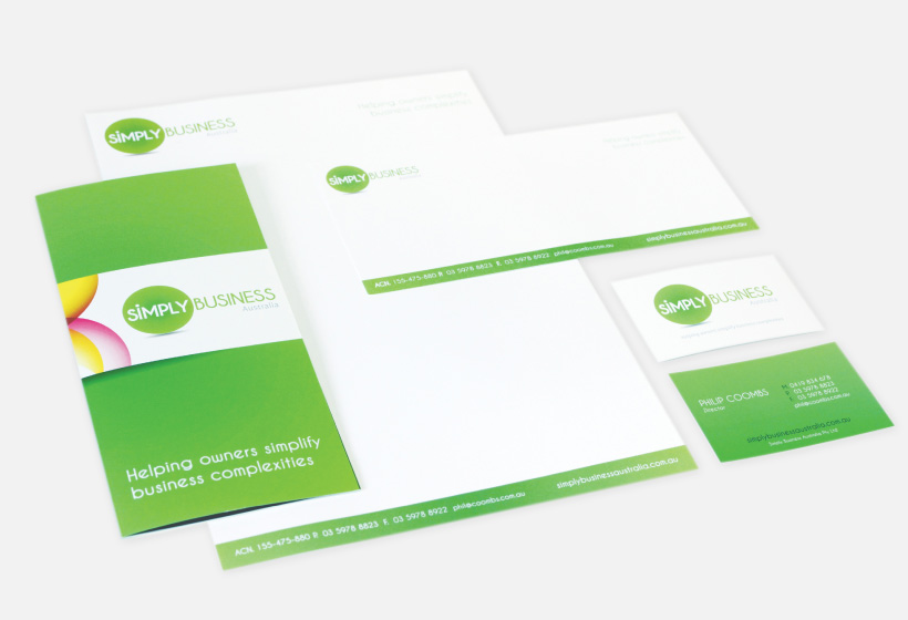 Simply Business Stationery Design